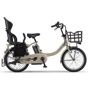 ヤマハ(YAMAHA) 電動自転車 パス バビーアン Babby un シート付き PA20BXLR カフェベージュ|trycycle