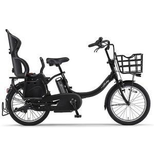 ヤマハ(YAMAHA) 電動自転車 パス バビーアン Babby un シート付き PA20BXLR マットブラック2|trycycle