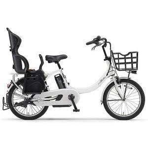 ヤマハ(YAMAHA) 電動自転車 パス バビーアン Babby un シート付き PA20BXLR ピュアホワイト|trycycle
