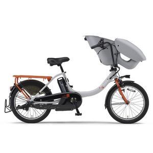 ヤマハ パス 電動アシスト自転車 PAS Kiss mini un グレー/オレンジ PA20KXL|trycycle