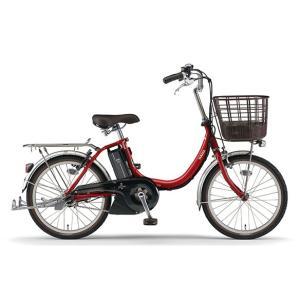 ヤマハ パス 電動アシスト自転車 PAS SION-U 20 レッド PA20SU|trycycle