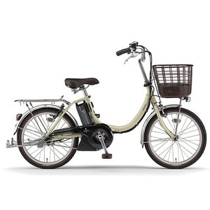 ヤマハ パス 電動アシスト自転車 PAS SION-U 20 アイボリー PA20SU|trycycle
