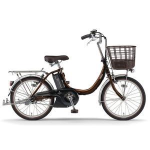 ヤマハ パス 電動アシスト自転車 PAS SION-U 20 ダークブラウン PA20SU|trycycle