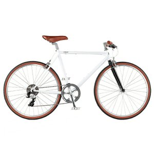 送料無料 RITEWAY(ライトウエイ) クロスバイク スタイラス STYLES グロスホワイト【北海道、九州、沖縄、離島は送料別】|trycycle