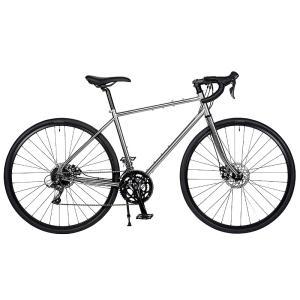 送料無料 RITEWAY(ライトウエイ) ツーリングバイク ソノマアドベンチャー SONOMA ADVENTURE 700C グロスチタンシルバー【北海道、九州、沖縄、離島は送料別】|trycycle