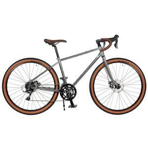 送料無料 RITEWAY(ライトウエイ) ツーリングバイク ソノマアドベンチャー  650B(27.5) グロスチタンシルバー【北海道、九州、沖縄、離島は送料別】|trycycle
