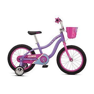 シュウィン(SCHWINN) 子供自転車 LIL STARDUST 16 パープル|trycycle