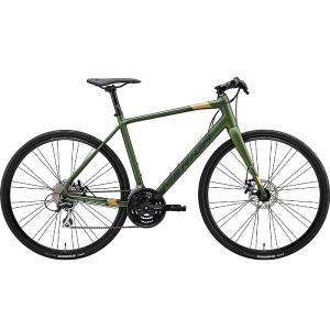 【キャッシュレス5%還元対象店】送料無料 MERIDA(メリダ) クロスバイク グランスピード GRAN SPEED 80-MD GREEN|trycycle