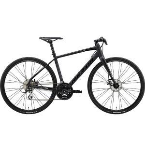 【キャッシュレス5%還元対象店】送料無料 MERIDA(メリダ) クロスバイク グランスピード GRAN SPEED 80-MD BLACK|trycycle