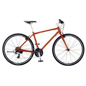 送料無料 ミヤタ(MIYATA) クロスバイク カリフォルニアスカイ C ACSC410 (OY97) カッパーオレンジ|trycycle