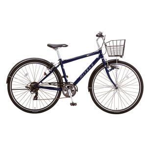 送料無料 ミヤタ(MIYATA) クロスバイク EXクロス BEC42L91 (AB41) マットジーンズネイビー|trycycle