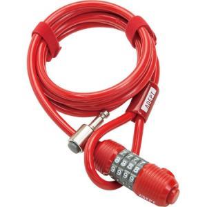 ADEPT(アデプト) ワイヤーロック WIZ 820 RED|trycycle
