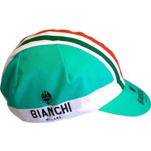 ビアンキ(BIANCHI) 男性用ウェア サイクルキャップ NEON BIANCHI Fサイズ|trycycle