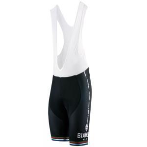 送料無料 ビアンキ(BIANCHI) 男性用ウェア サイクルパンツ VICTORY BLACK Mサイズ|trycycle