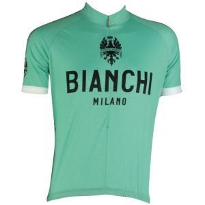 ビアンキ(BIANCHI) 男性用ウェア 半袖サイクルジャージ PRIDE BIANCHI Mサイズ|trycycle