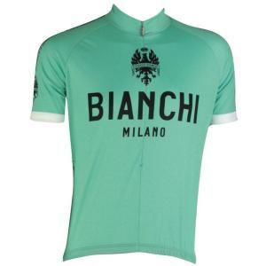ビアンキ(BIANCHI) 男性用ウェア 半袖サイクルジャージ PRIDE BIANCHI Lサイズ|trycycle