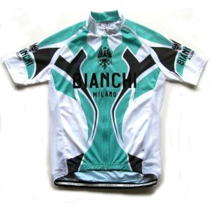 送料無料 ビアンキ(BIANCHI) 男性用ウェア 半袖サイクルジャージ OCERZA BIANCHI Mサイズ|trycycle