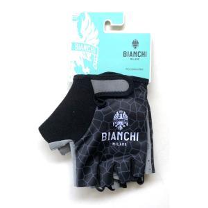 ビアンキ(BIANCHI) 男性用ウェア グローブ ALVIA 4000 BLACK Lサイズ|trycycle