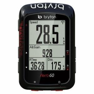 送料無料 BRYTON(ブライトン) GPSサイクルコンピューター Aero60E 本体セット|trycycle
