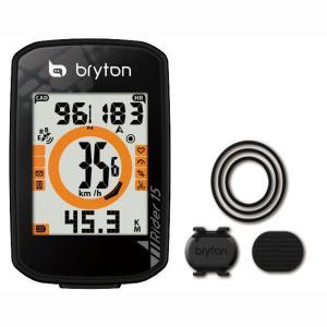 送料無料 BRYTON(ブライトン) GPSサイクルコンピューター Rider15C ケイデンスセンサー付|trycycle