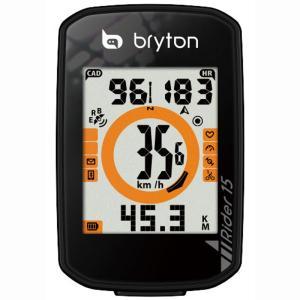 送料無料 BRYTON(ブライトン) GPSサイクルコンピューター Rider15E|trycycle