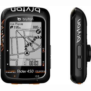 送料無料 BRYTON(ブライトン) GPSサイクルコンピューター Rider450E 本体セット|trycycle