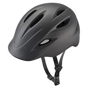 ブリヂストン 自転車用ヘルメット クルムス CH-BSM Mサイズ(54cm〜58cm、330g) ブラックの画像