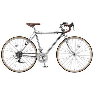 【防犯登録サービス中】ブリヂストン クエロ CHeRO 700C Drop 16段変速 CD7515 510mm M.スパークルシルバー クロスバイク trycycle