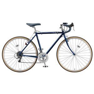 【防犯登録サービス中】ブリヂストン クエロ CHeRO 700C Drop 16段変速 CD7545 540mm E.モダンブルー クロスバイク|trycycle