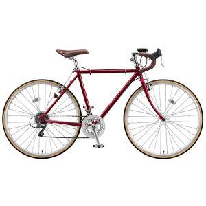 【防犯登録サービス中】ブリヂストン クエロ CHeRO 700C Drop 16段変速 CD7545 540mm E.モダンレッド クロスバイク|trycycle