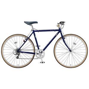 【防犯登録サービス中】ブリヂストン クエロ CHeRO 700C Flat 8段変速 CF7515 510mm E.Bアイリッシュネイビー クロスバイク|trycycle