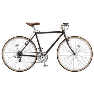 【防犯登録サービス中】ブリヂストン クエロ CHeRO 700C Flat 16段変速 CW7545 540mm T.Bビターブラウン クロスバイク|trycycle