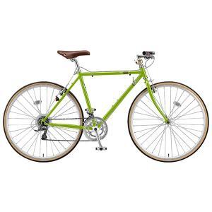 【防犯登録サービス中】ブリヂストン クエロ CHeRO 700C Flat 16段変速 CW7545 540mm E.Bティーグリーン クロスバイク|trycycle