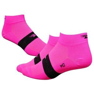 Defeet(ディフィート) ソックス AI 1  Team Defeet Hi-Vis Pink L|trycycle