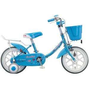 【防犯登録サービス中】ブリヂストン キッズ用自転車 エコキッズ カラフル EK14C6 ブルー|trycycle