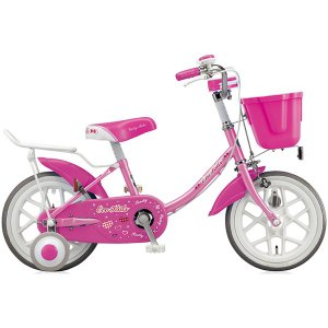 【防犯登録サービス中】ブリヂストン キッズ用自転車 エコキッズ カラフル EK16C6 ピンク|trycycle