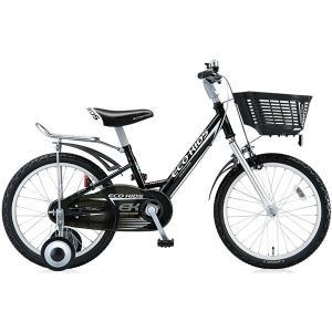 【防犯登録サービス中】ブリヂストン キッズ用自転車 エコキッズ スポーツ EK18S6 ブラック|trycycle