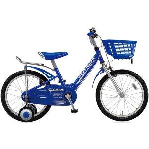 【防犯登録サービス中】ブリヂストン キッズ用自転車 エコキッズ スポーツ EK18S6 ブルー|trycycle