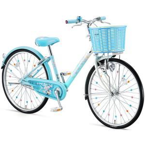【防犯登録サービス中】ブリヂストン 少女用自転車 エコパル 22インチ EP205 ブルー|trycycle