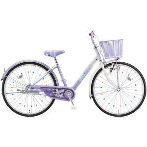 【防犯登録サービス中】ブリヂストン 少女用自転車 エコパル 22インチ EP205 ラベンダー|trycycle
