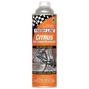 フィニッシュライン FINISHLINE シトラス Bチェーン ディグリーザー 600ml 缶|trycycle