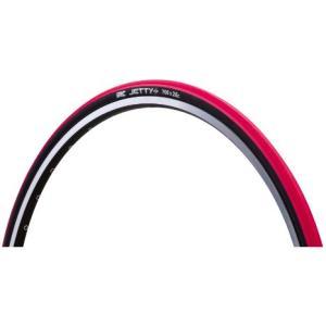 IRC クロスバイクタイヤ 700×28C JETTYプラス レッド trycycle