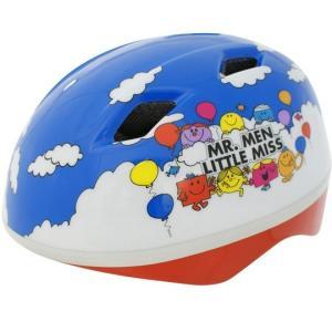 ジョイパレット 子供用ヘルメット カブロヘルメットV ミスターメンリトルミス ブルー 46-52cm trycycle