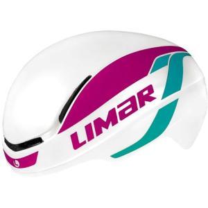 送料無料 LIMAR(リマール) ヘルメット 007 ホワイト/パープル/エメラルド|trycycle