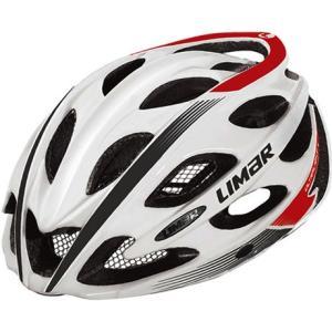 送料無料 LIMAR(リマール) ヘルメット ウルトラライト+ Lサイズ ホワイト/ブラック/レッド|trycycle