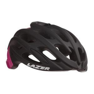 送料無料 LAZER(レーザー) ヘルメット Blade+ AF マットブラック/ピンク S(52-56cm)|trycycle