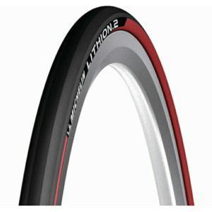 ミシュラン ロード用タイヤ 700×25 リチオン2 V2 レッド|trycycle