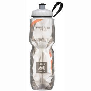 ポーラボトル【polarbottle】 24oz ポーラボトル レギュラー24oz カーボン オレンジ|trycycle