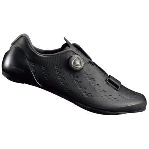 送料無料 シマノ シューズ ロード RP9 ブラック ワイド SH-RP901|trycycle