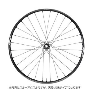 送料無料 シマノ マウンテンバイクホイール WH-M8000-TL フロントのみ QR 27.5インチ|trycycle